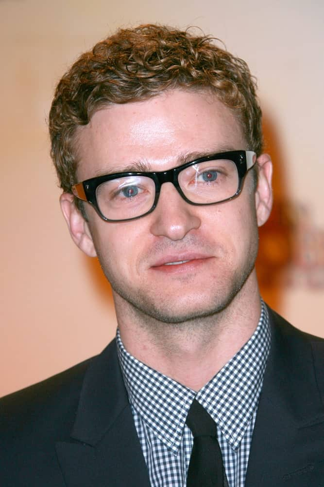 Justin Timberlake attending the 67th Annual Golden Globe Awards Nominations Announcement on December 15, 2009.