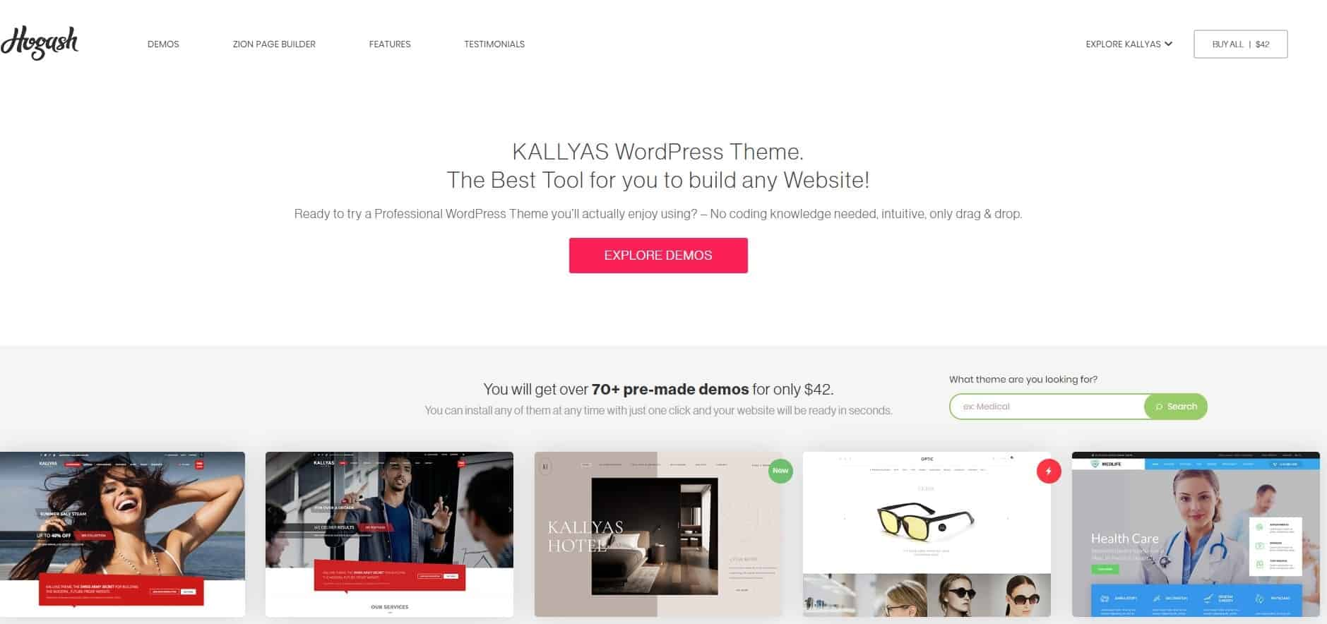 Kallyas Word Press Theme