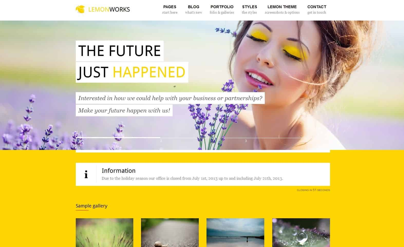 Lemon Word Press Theme