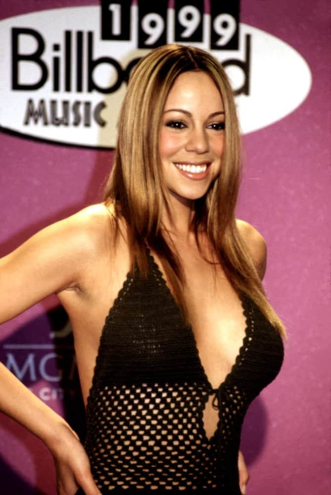 Mariah Carey at the 1999 Billboard Music Awards in Las Vegas.