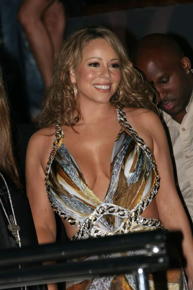 Mariah Carey attends Roberto Cavalli dinner held at the Roberto Cavalli's yacht RC during the 62nd International Cannes Film Festival on May 16, 2009, in Cannes, France.