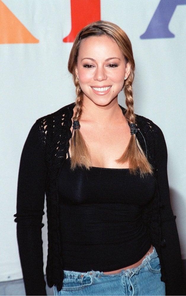 Mariah Carey promotes her new album
