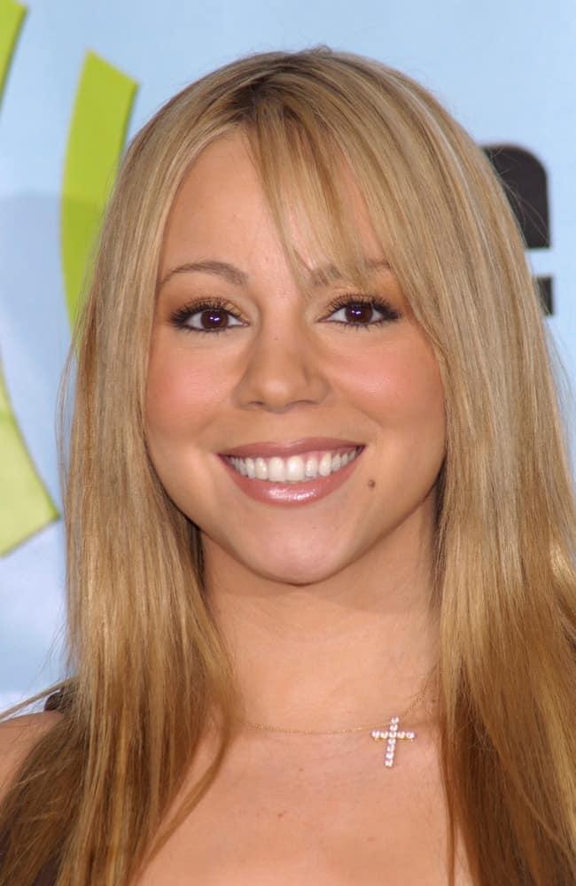 Mariah Carey at the 2001 Radio Music Awards at the Aladdin Hotel & Casino, Las Vegas on October 26.