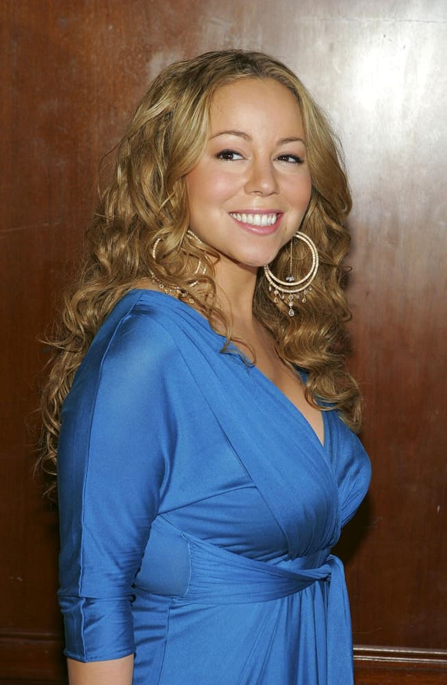 Mariah Carey at Bette Midler Hulaween Gala for New York Restoration Project, The Waldorf-Astoria Hotel, New York, NY, October 31, 2005.