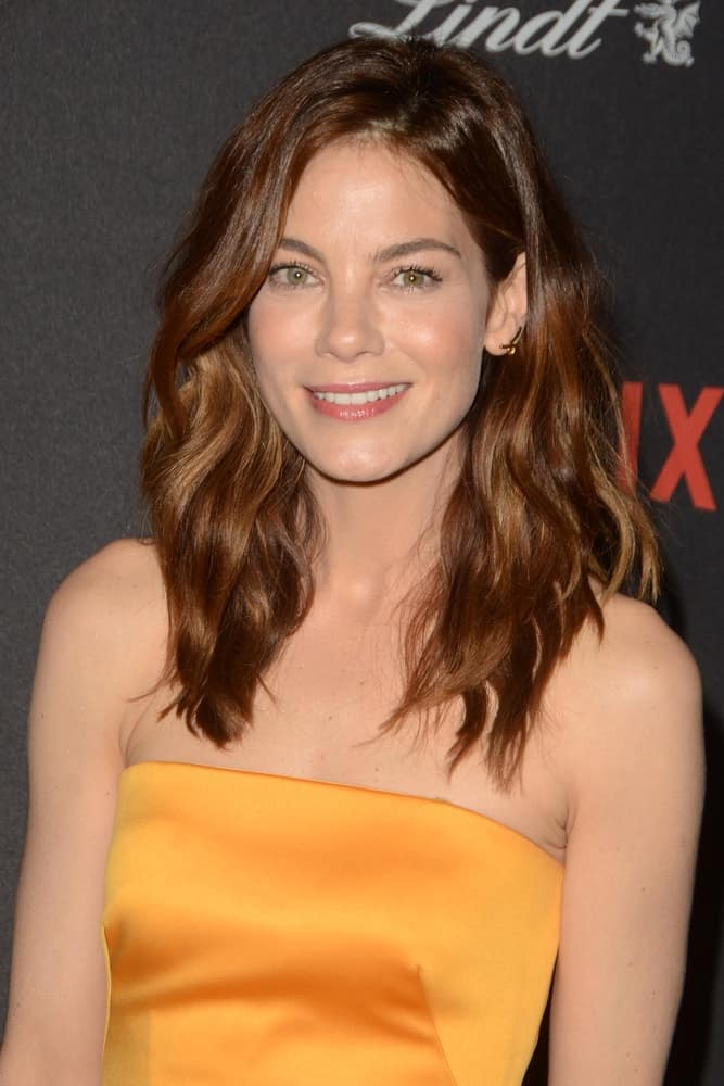 Michelle Monaghan at the Weinstein Company & Netflix 2016 Golden Globe After Party at the Beverly Hilton on January 10, 2016, in Beverly Hills, CA.