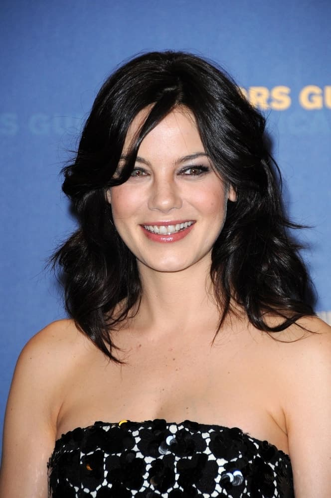 Michelle Monaghan smiles in the press room at the 61st Annual DGA Awards held at Hyatt Regency Century Plaza, Los Angeles, CA on Jan. 31, 2009.