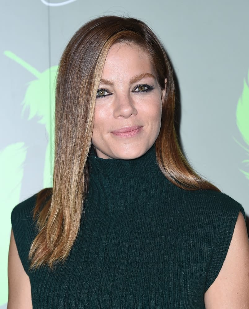 Michelle Monaghan arrives at the Aviva Family and Children's Services to celebrate its 100th Anniversary with The
