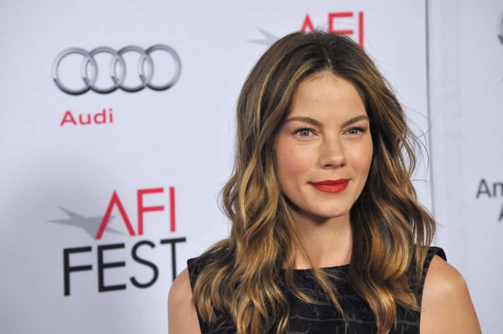 Michelle Monaghan during the American Film Institute's special tribute gala honoring Sophia Loren at the Dolby Theatre on Nov. 12, 2014.