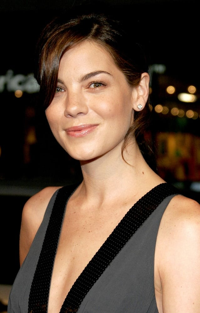 Michelle Monaghan attends the Los Angeles premiere of 'North Country' held at the Grauman's Chinese Theatre in Hollywood, USA on October 10, 2005.