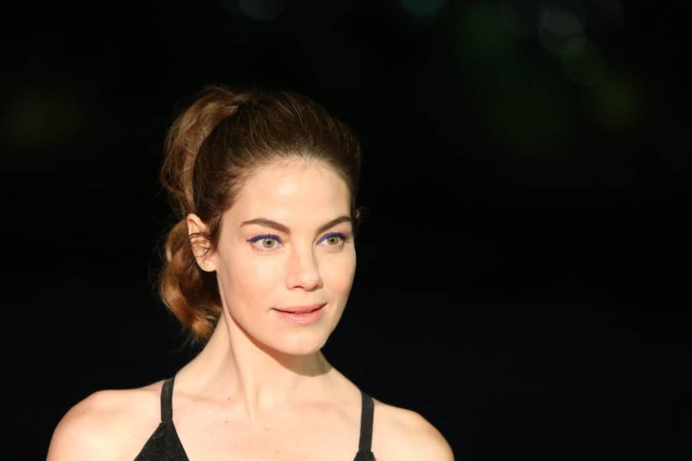 Michelle Monaghan looks fit and sexy during the 5th annual Black Tie Ball held on Oct. 5, 2017, at the Brooklyn Bridge Park Conservancy in New York, NY.