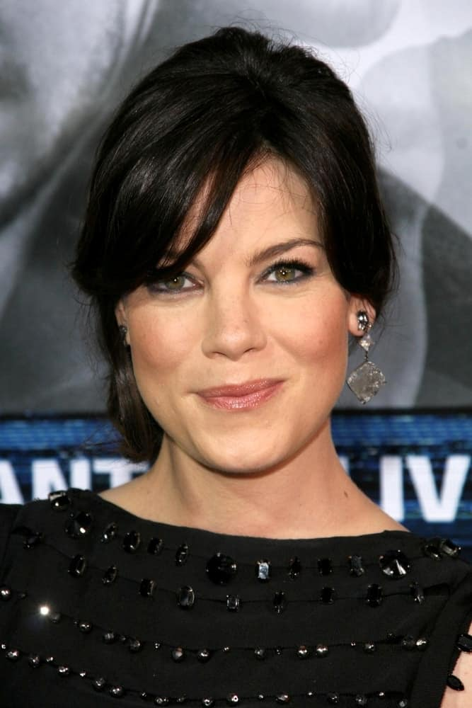 Michelle Monaghan at the Los Angeles Premiere of 'Eagle Eye' at Mann's Chinese Theatre, Hollywood, CA on Sep. 16, 2008.
