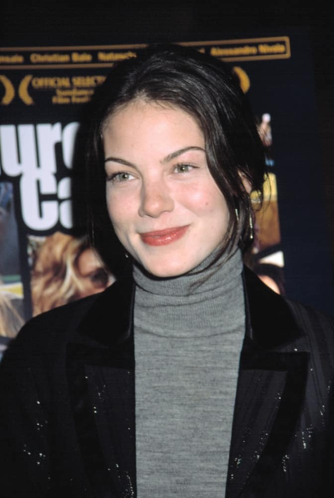 Michelle Monaghan looks demure during the premiere of Laurel Canyon in New York on Feb. 18, 2003.