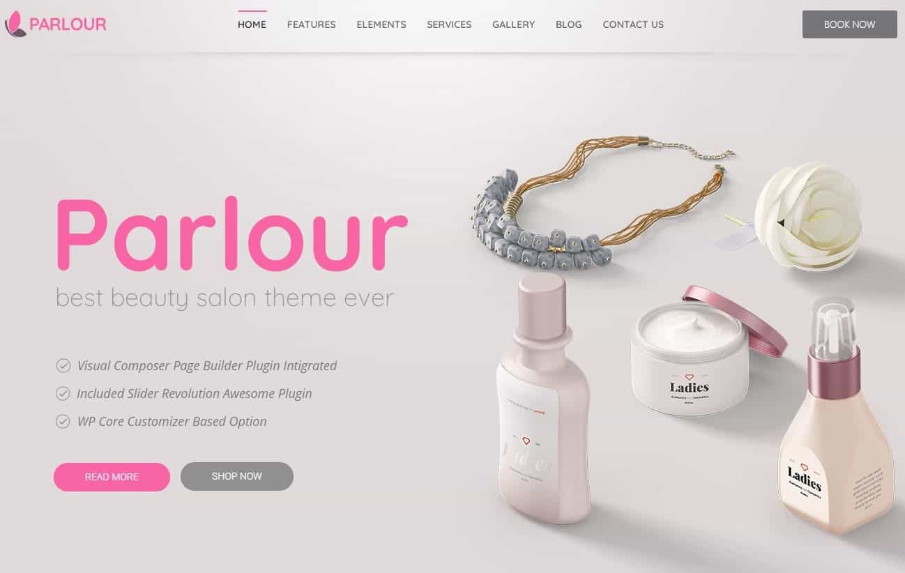 Parlour Word Press Theme