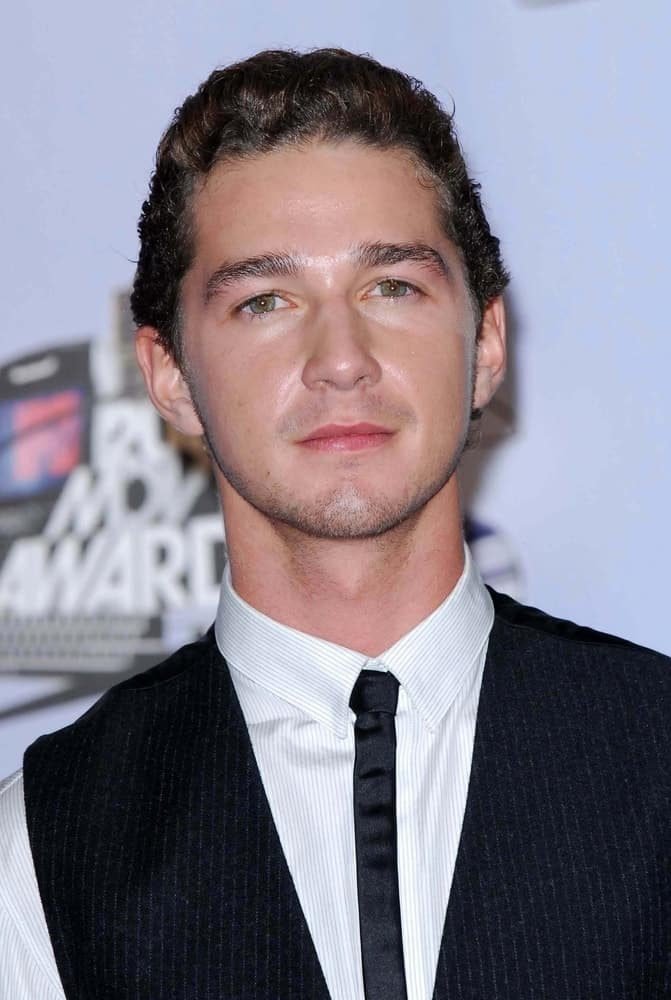 Shia LaBeouf in the press room at the 2007 MTV Movie Awards held at Gibson Amphitheatre, Universal City, CA on June 3, 2007.
