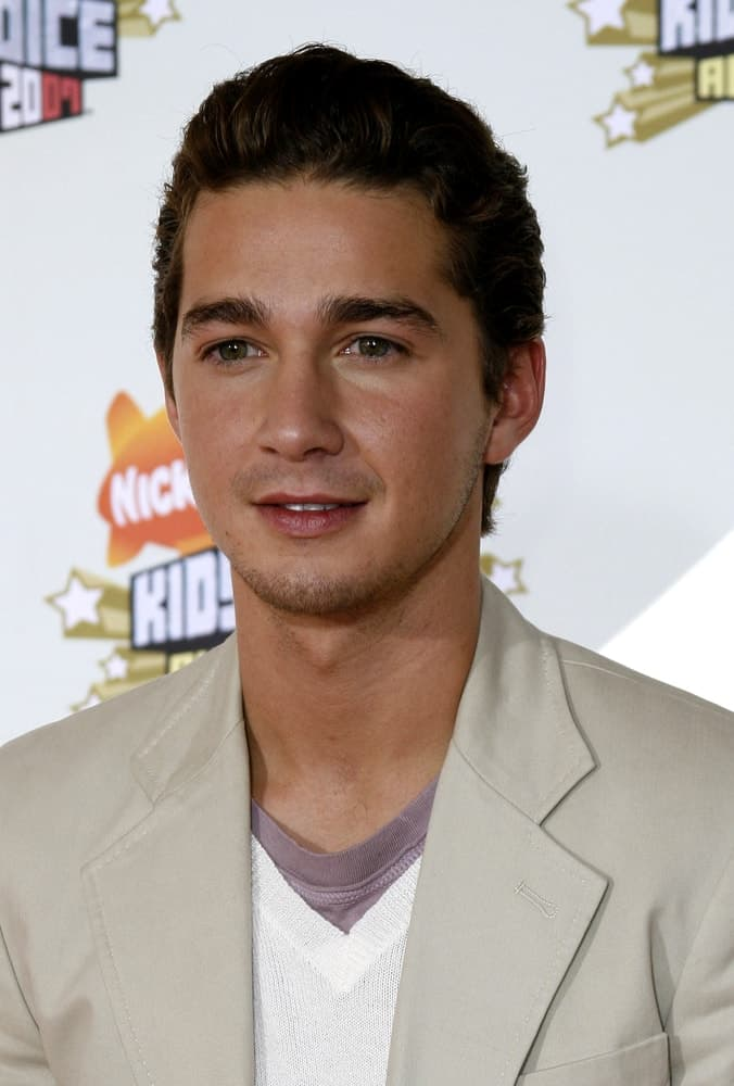 Shia LaBeouf attends the Nickelodeon's 20th Annual Kids' Choice Awards held at the Pauley Pavilion in Westwood, USA on March 31, 2007.