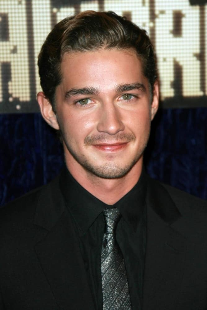 Shia LaBeouf at the 2007 MTV Video Music Awards held at The Palms Hotel And Casino, Las Vegas, NV on Sep. 9, 2007.