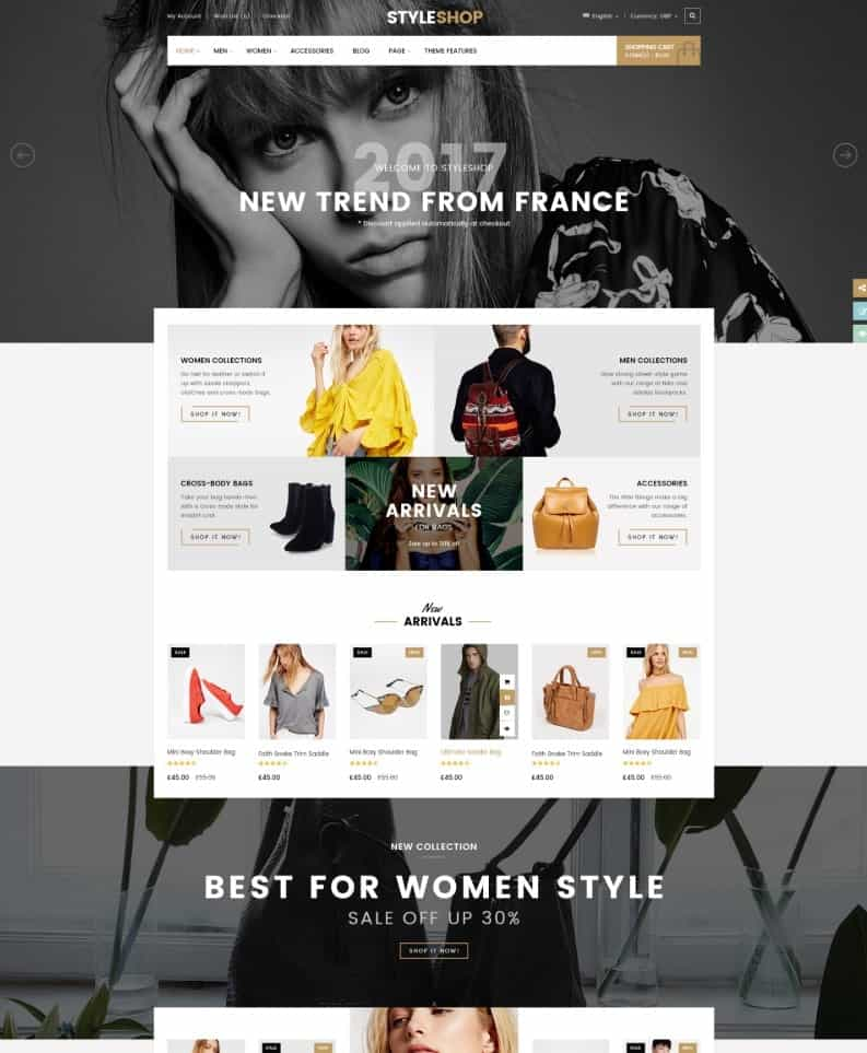 StyleShop Word Press Theme