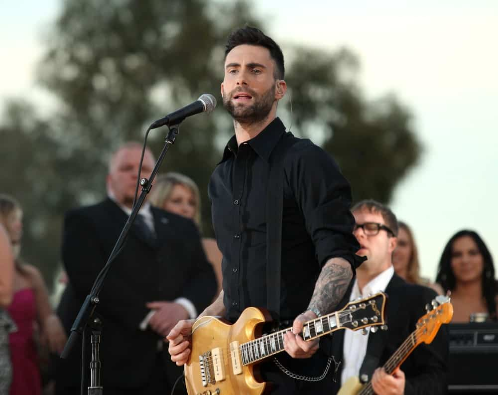 Adam Levine and his band performed at the 16th Annual