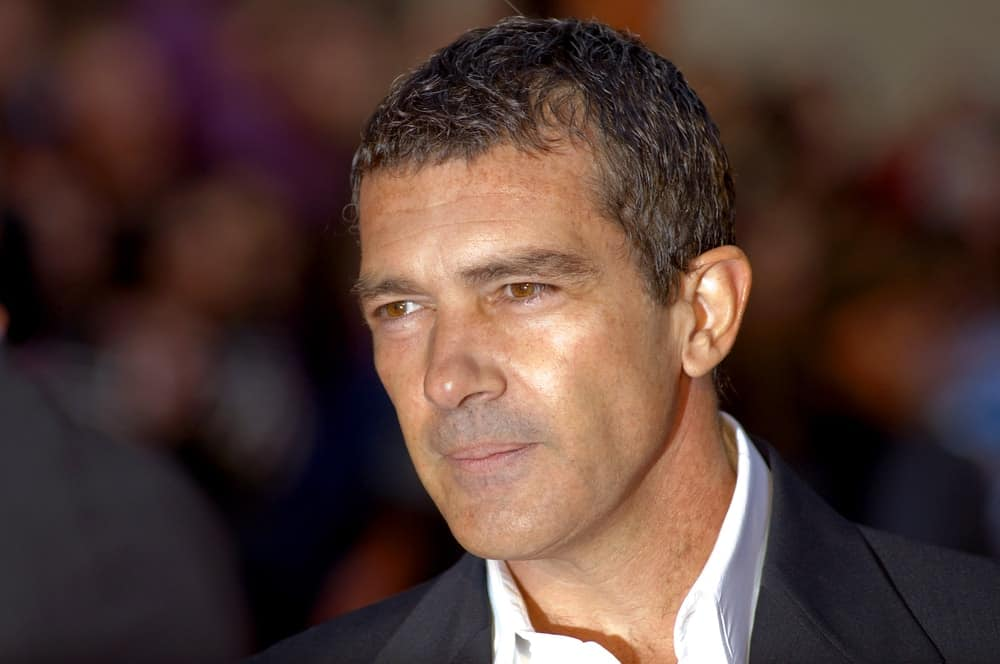 Antonio Banderas at the 12th Malaga Film Festival at the Cervantes Theater on March 15, 2009 in Malaga, Spain.