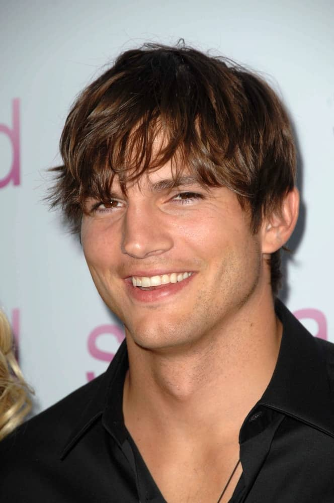 Ashton Kutcher at the Los Angeles Premiere of 'Spread'. Arclight Cinemas, Hollywood in 2009.