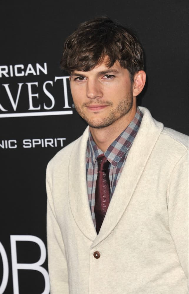 Ashton Kutcher at the Los Angeles premiere of his movie