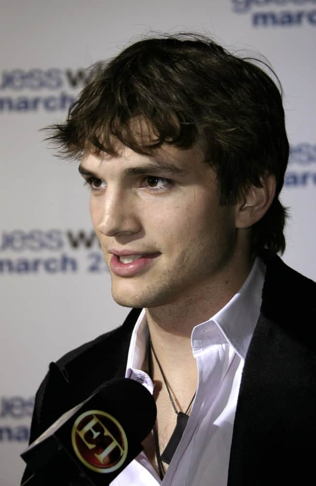 On March 13, 2005, actor Ashton Kutcher attended the