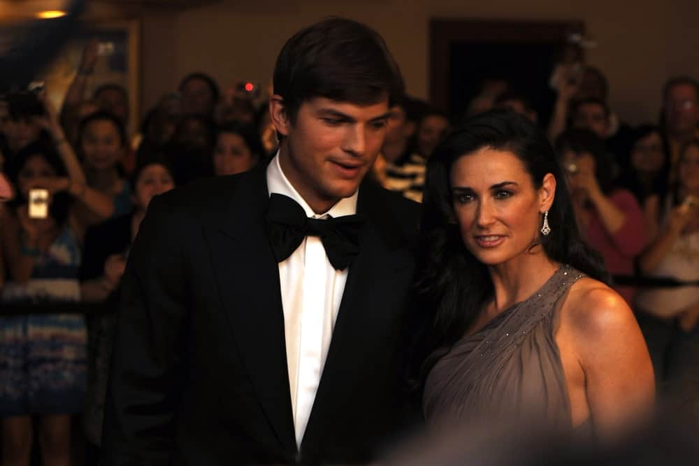 Demi Moore and Ashton Kutcher were at the White House Correspondents' Dinner on May 9, 2009 in Washington, D.C. Kutcher's usually tousled hair was tamed into a classy side-parted finish.