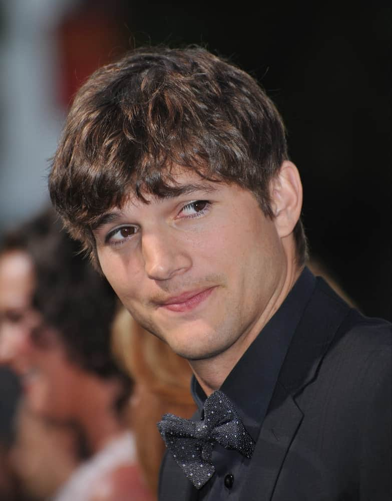 On June 1, 2010, Ashton Kutcher was at the Los Angeles premiere of his new movie