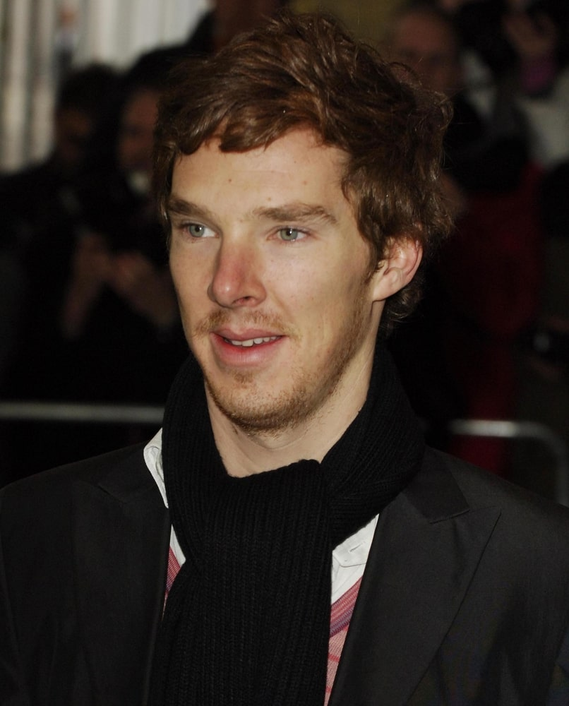 The actor arrived at the Evening Standard Theatre Awards held at the Savoy Hotel in The Strand on November 27, 2007 with volumized auburn waves.