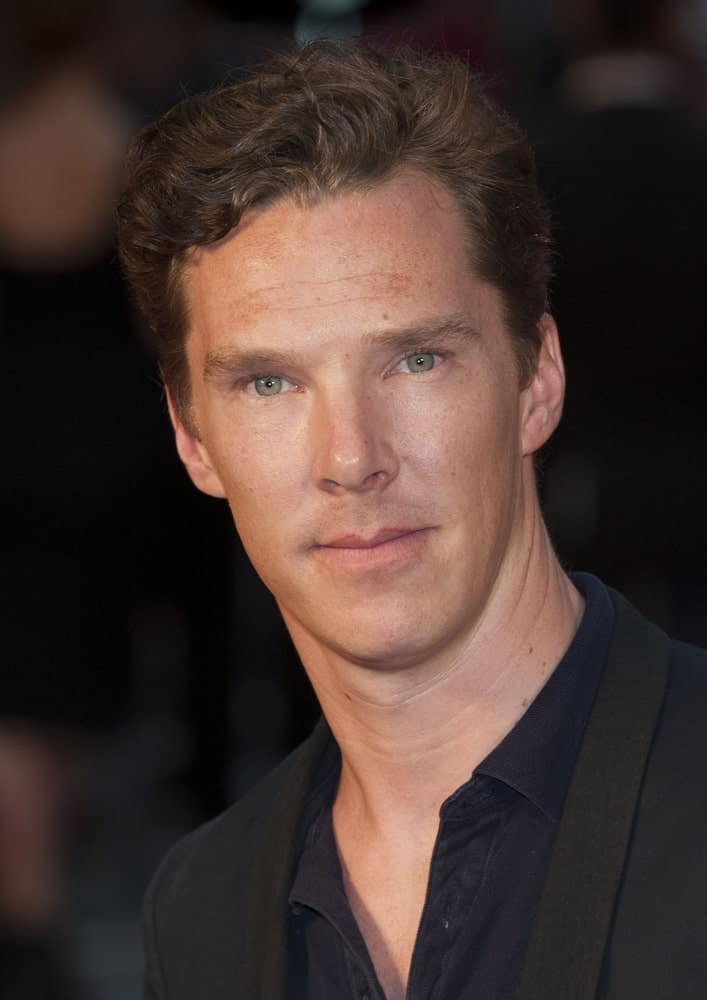 Benedict Cumberbatch in his regular cut with some highlights at the UK premiere of Anna Karenina at Odeon Leicester Square, London last May 9, 2012.
