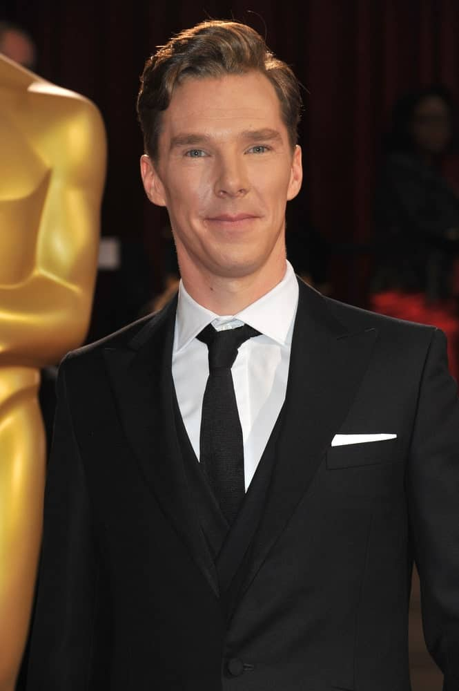 The actor showcased his side-parted locks accentuated with brown highlights during the 86th Annual Academy Awards at the Dolby Theatre, Hollywood on March 2, 2014.