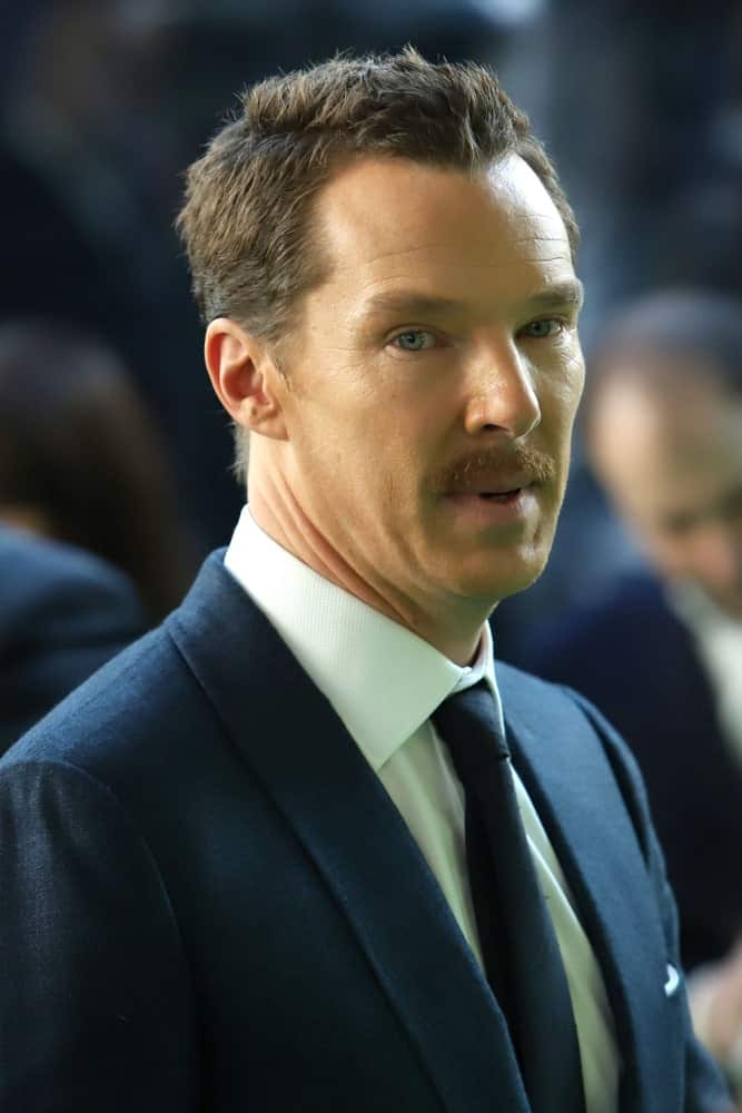 On November 3, 2018, the English actor made an appearance at the premiere of