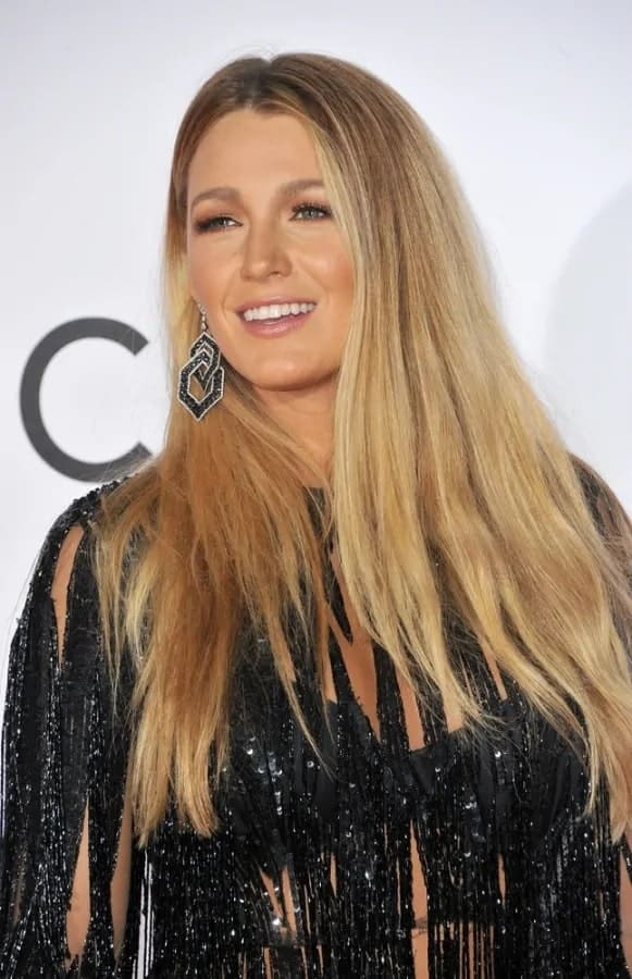 Blake Lively attended the People's Choice Awards 2017 in LA back on January 18, 2017. She wowed everyone with her loose and straight highlighted hairstyle and fashion-forward glamorous dress.