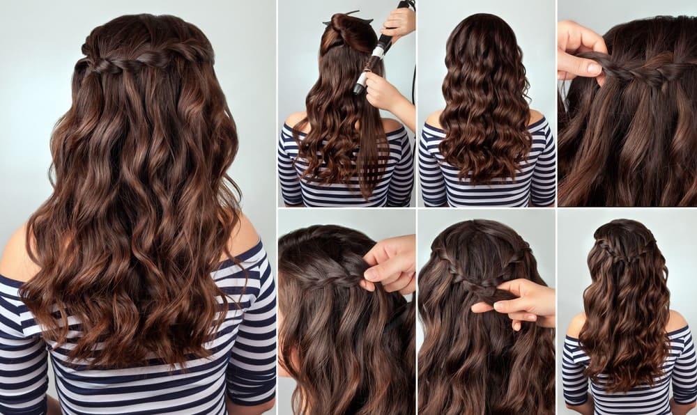 Braids for Long Wavy Hair Tutorial