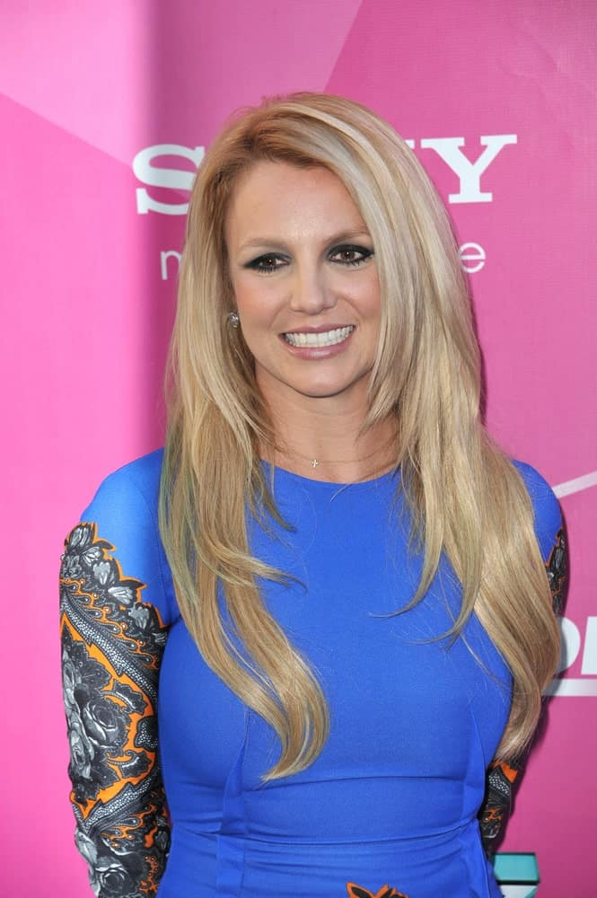 "Britney Spears made an appearance at the season two premiere of ""X Factor USA"" last September 11, 2012 showcasing her long blonde hair layered orderly."