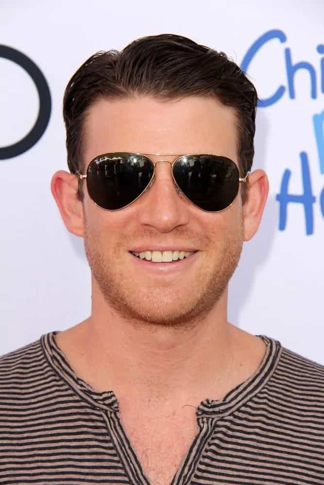 Bryan Greenberg went with a vintage look to his short side-parted hairstyle and aviator sunglasses during the 1st Annual Children Mending Hearts Style Sunday at the Private Residence last June 8, 2013 in Beverly Hills, CA.