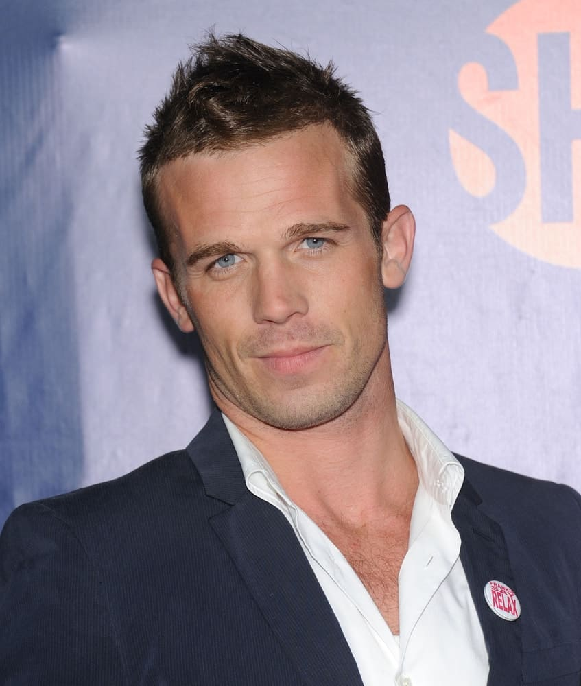 Cam Gigandet arrives to the CBS-CW-Showtime Summer TCA Press Tour 2014 on July7, 2014 in West Hollywood, CA.