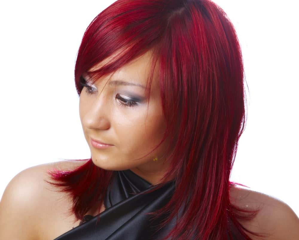 cherry red hair example
