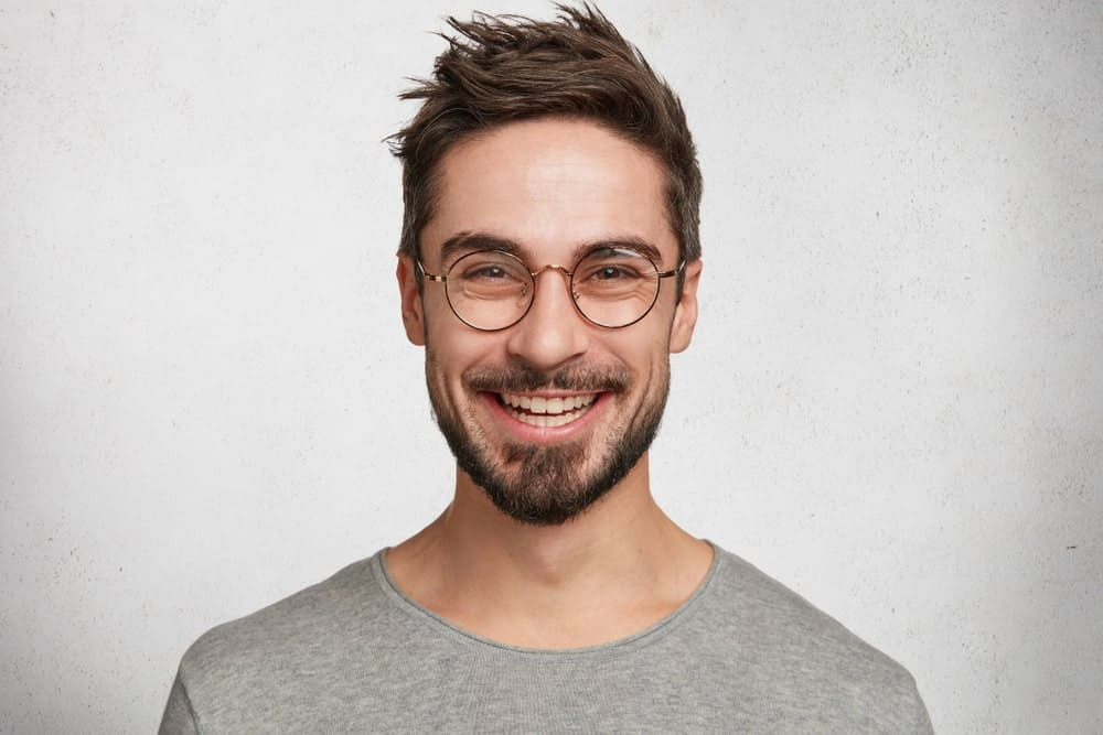 Choppy cut hairstyle is a versatile one as it can be turn into a messier look or into a clean and professional look. Here's an example of the hairstyle.