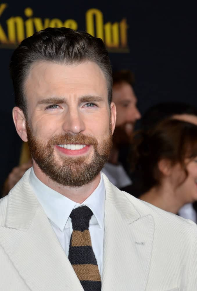 On November 15, 2019, Chris Evans attended the premiere of
