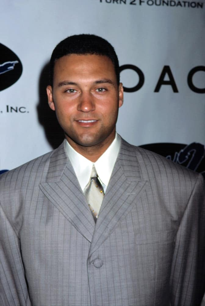 Derek Jeter at the Turn 2 Foundation Gala, NYC, in 2001.