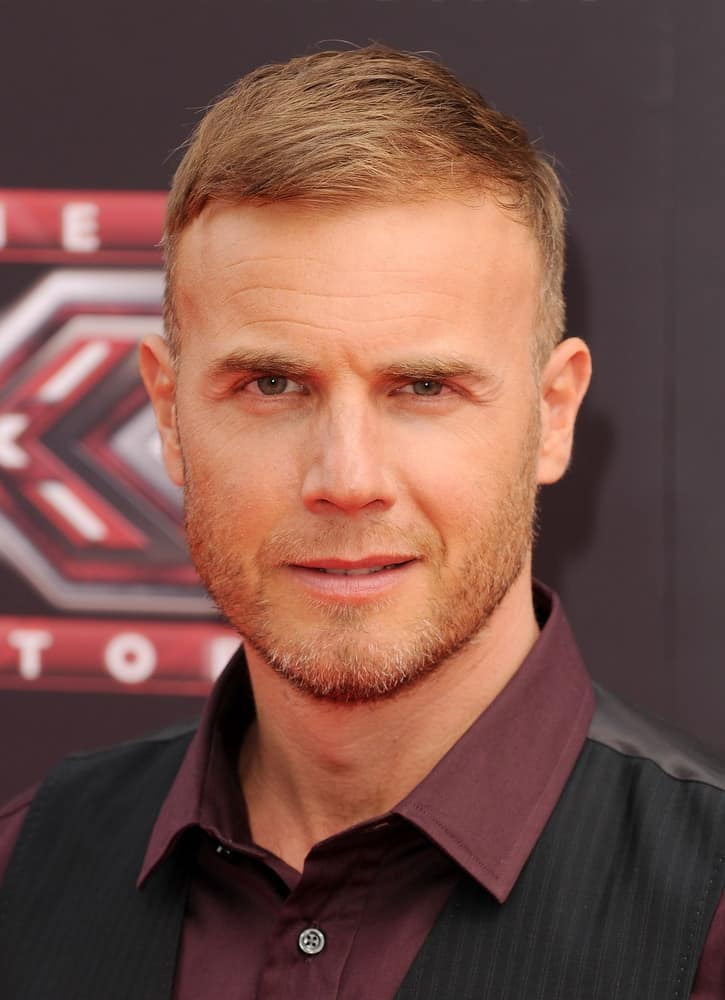 Gary Barlow at the X Factor Photocall at O2 Arena, London. August 17, 2011 London, United Kingdom.
