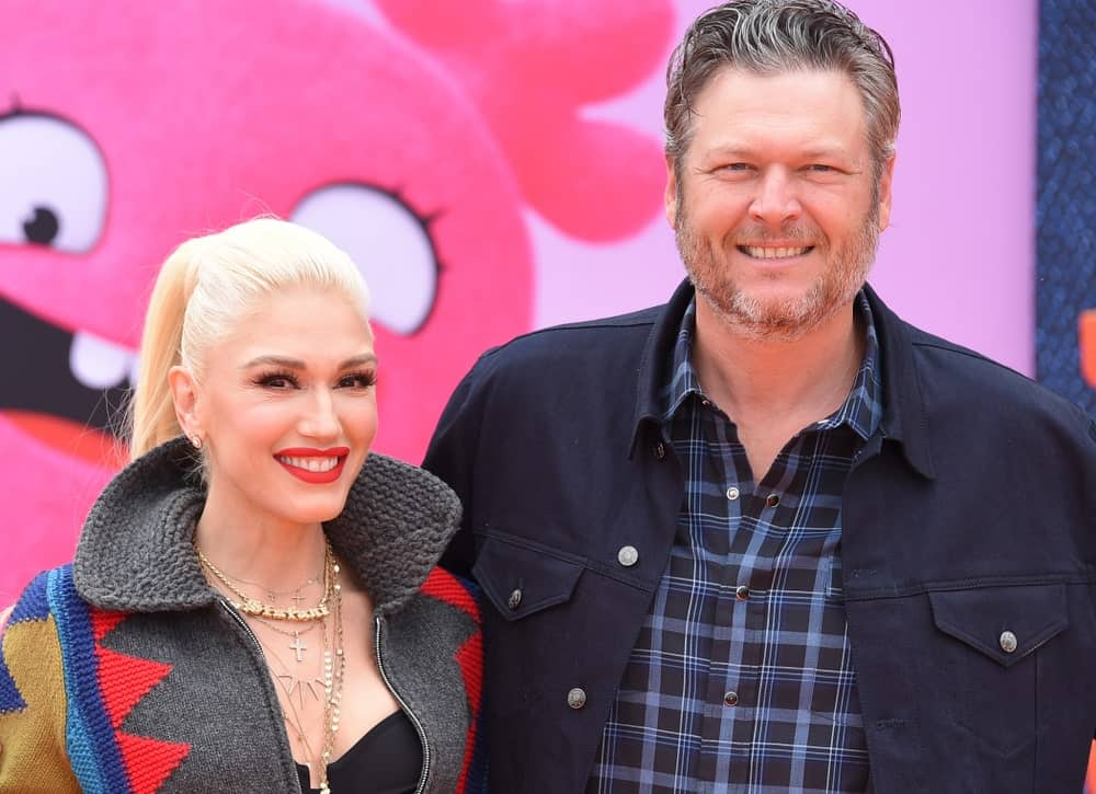 Gwen Stefani and Blake Shelton attended the 'Ugly Dolls' World Premiere last April 27, 2019, in Los Angeles. Stefani wore a colorful knit sweater to match her casual high ponytail and signature bold lips.