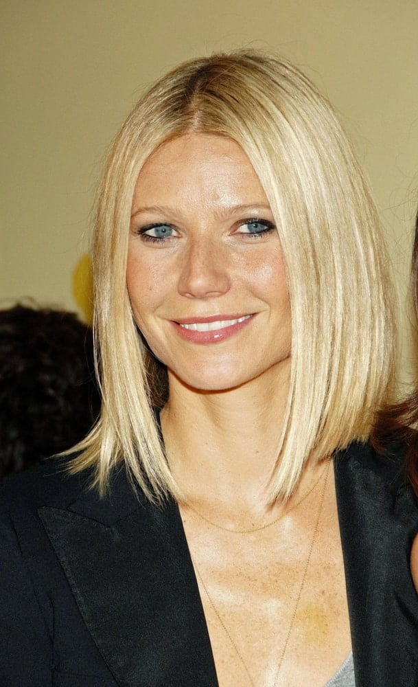Gwyneth Paltrow attended Spain On The Road Again Series Premiere last September 21, 2008 with a long bob cut that flatters her gorgeous face.