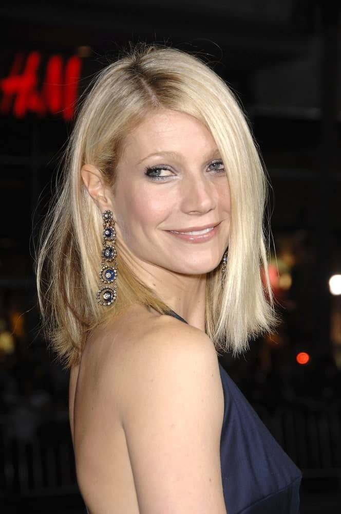 Gwyneth Paltrow flaunted her short tousled blonde hair complemented with custom-made Stella McCartney jumpsuit and vintage Fred Leighton jewelry at IRON MAN Premiere held on April 30, 2008.