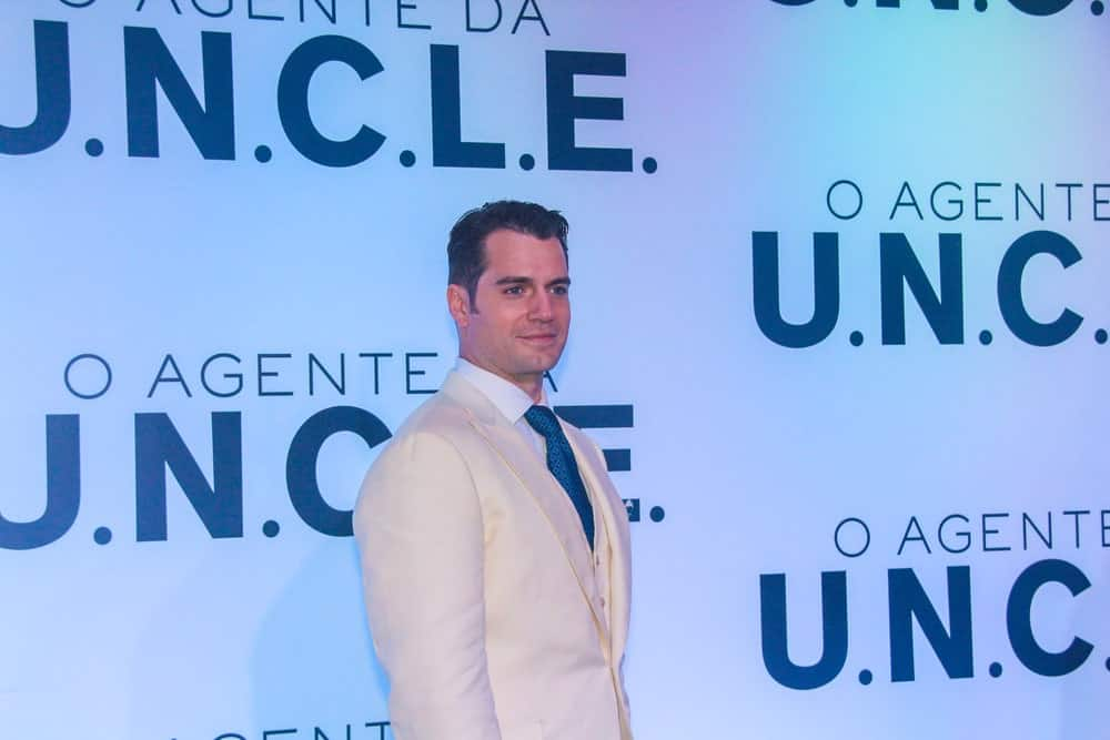 The actor exhibited a refined and cool aura at the Rio de Janeiro city premiere of