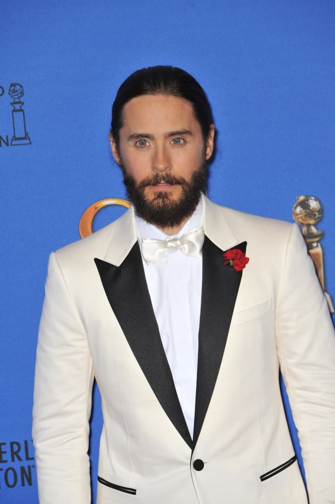 Jared Leto at the 72nd Annual Golden Globe Awards at the Beverly Hilton Hotel, Beverly Hills.