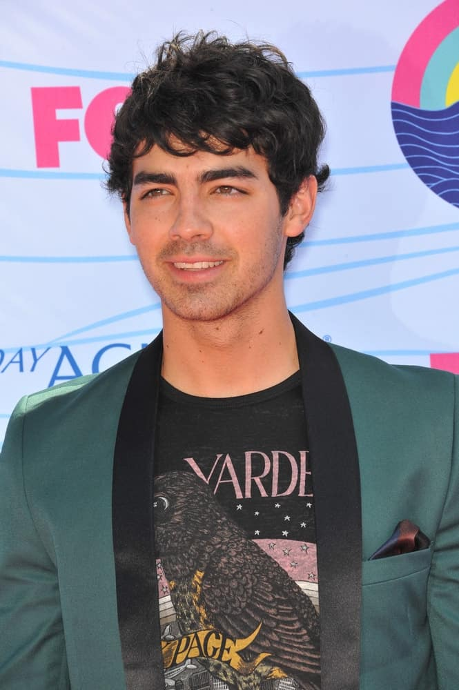 Joe Jonas at the 2012 Teen Choice Awards at the Gibson Amphitheatre, Universal City.