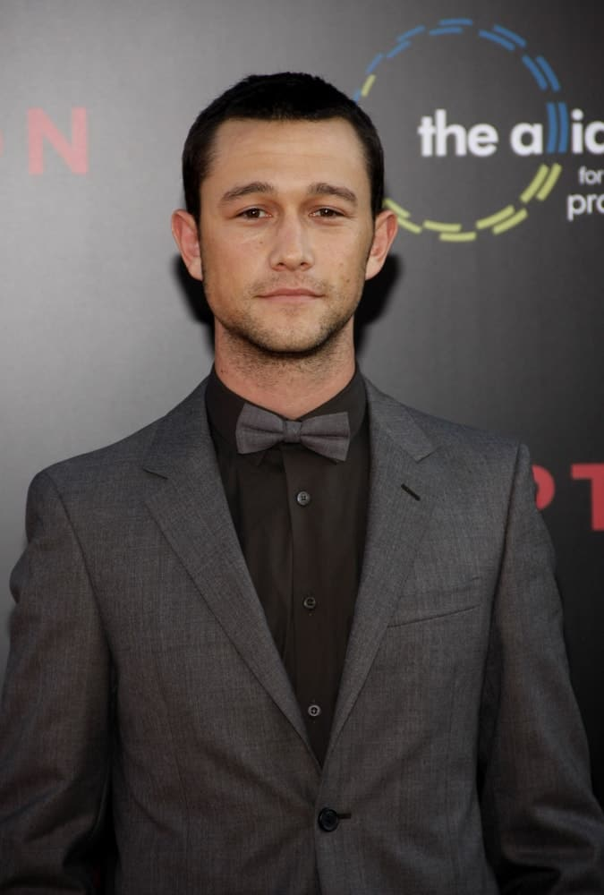 Joseph Gordon-Levitt at the Los Angeles premiere of 'Inception' held at the Grauman's Chinese Theater in Los Angeles, USA on July 13, 2010.