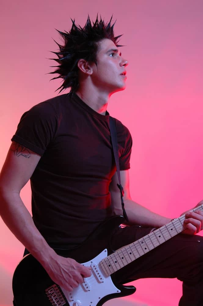 A popular choice among band members or guys sporting rock fashion, liberty spikes hairstyle is a bold one just like the mohawk.